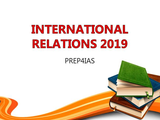 International Relations 2019