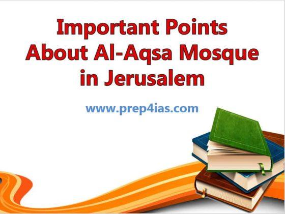 30 Important Points about Al-Aqsa Mosque in Jerusalem