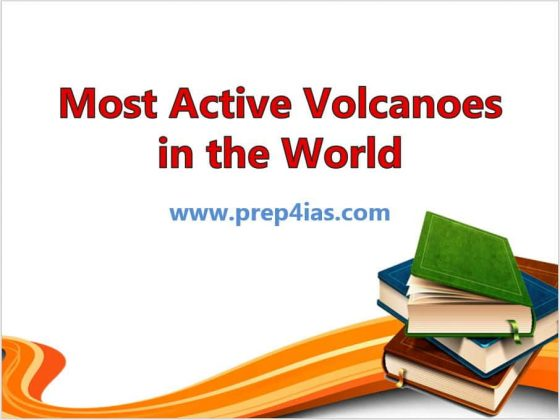20 Most Active Volcanoes in the World | UPSC IAS IPS IFS